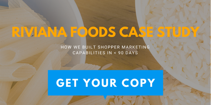 Riviana Foods Case Study Shopper Marketing Capability In Less than 90 Days